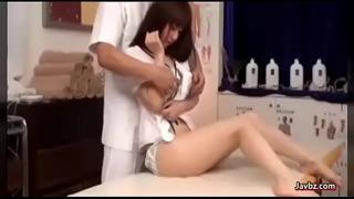 Very cute japanese massage(
