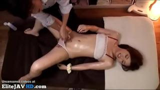 Japanese 18yo first massage turned in sex