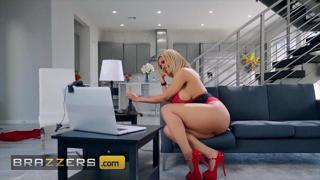 Big Ass Tits babe (Amber Alena) Fucked By Her Brother-In-Law - Brazzers
