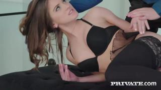 Private.com - Seductive Evelina Darling Ass Fucked In Lace Stockings!